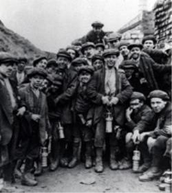 Young miners at Addison
