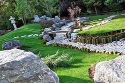 Saltwell Japanese garden