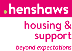 Henshaw's Housing and Support logo