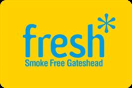 Fresh Smokefree Gateshead logo