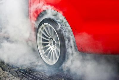 car meet burnout