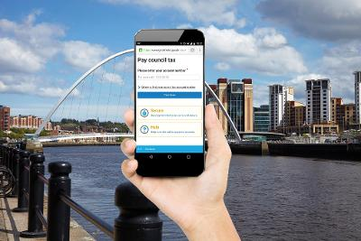 Gateshead Council mobile site