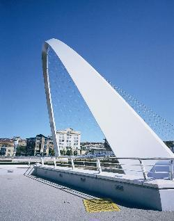 Gateshead Millennium Bridge timeline