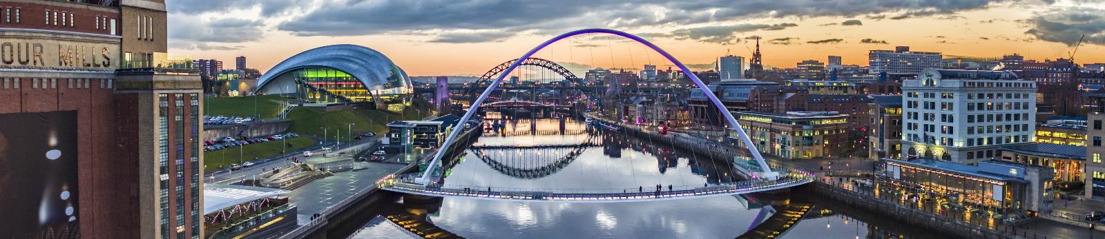 Gateshead Millennium Bridge Visit England