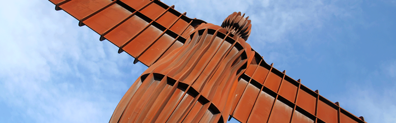 Angel of the North Close up