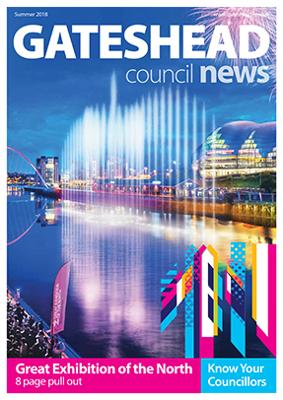 Council news Summer 2018 cover